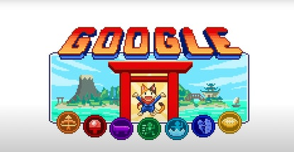 Doodle Champion Island Games is Google's logo for the 2021 Tokyo Olympics