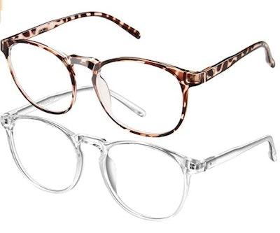FEIYOLD Blue Light Blocking Glasses (Set of 2)