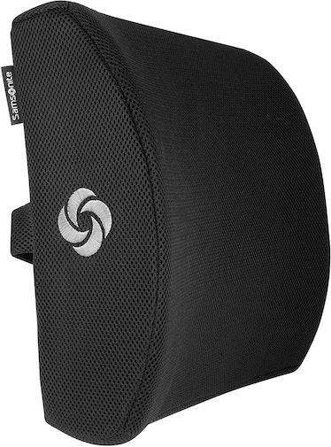 SAMSONITE Ergonomic Lumbar Support Pillow for Chair