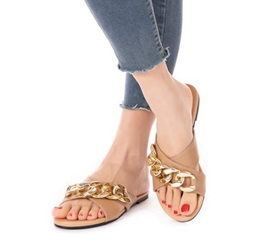 Mtzyoa Leather Sandals