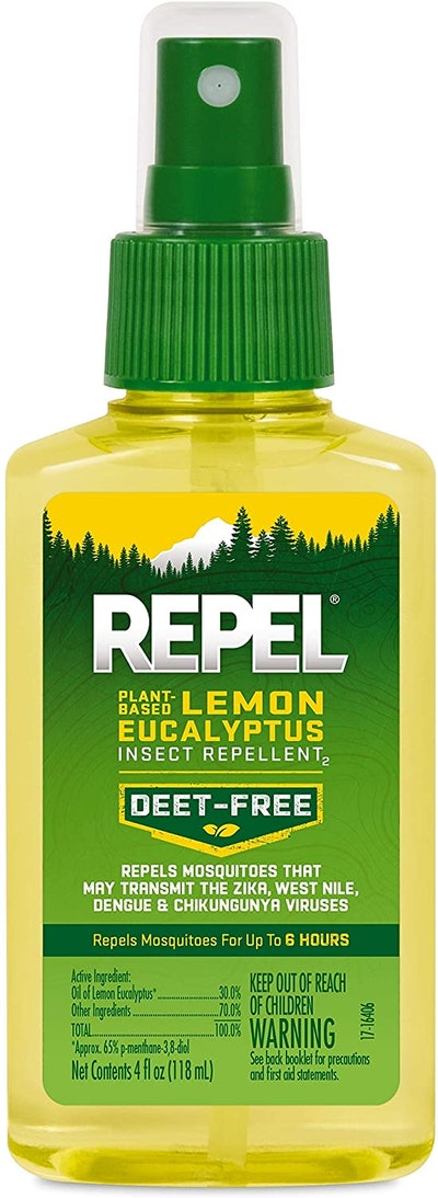 Repel Lemon Eucalyptus Insect Repellent Spray, 4 Oz.