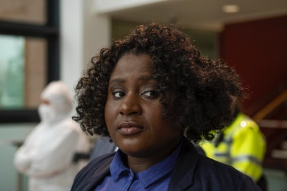 Susan Wokoma as DI Eve in BBC's 'Rules of the Game'