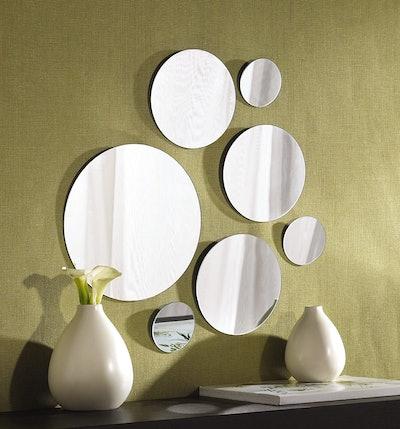 Elements Round Wall-Mount Mirror (Set of 7)