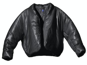 Yeezy Gap Black Round Jacket