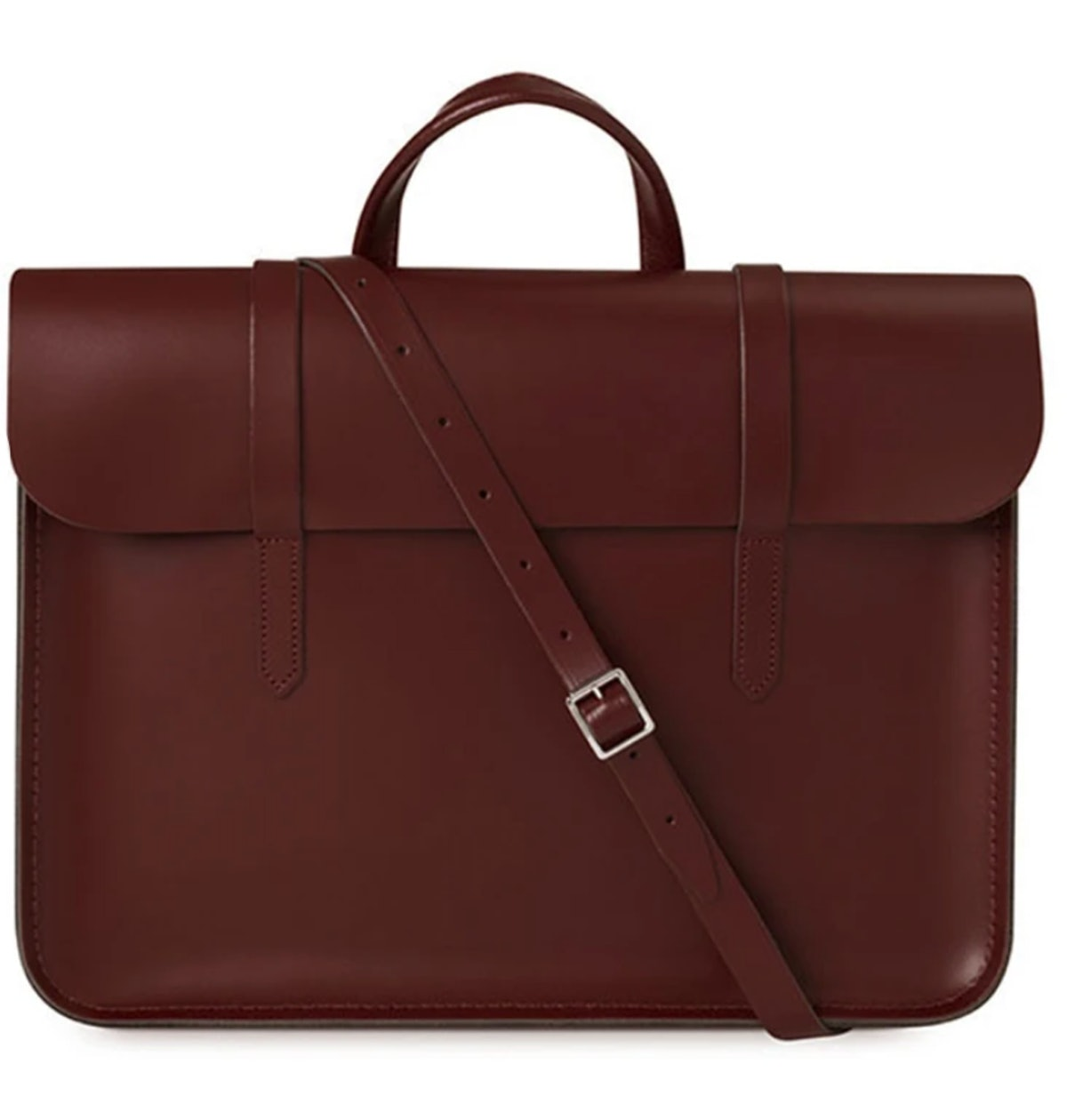 The Cambridge Satchel Company's Leather Music Case that can hold a laptop.
