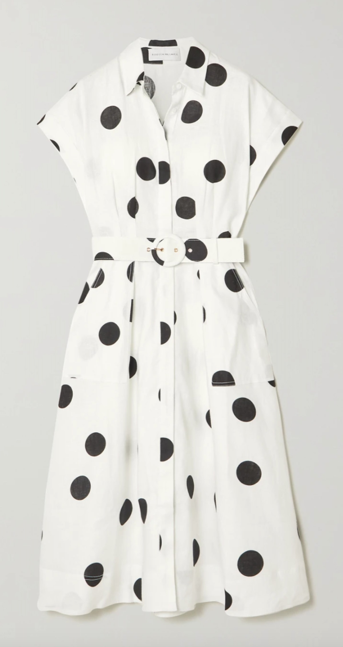 Rebecca Vallance polka dot dress.