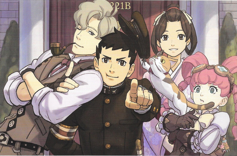The Great Ace Attorney, Cast of Characters