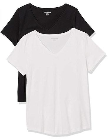 Amazon Essentials V-Neck T-Shirt (2-Pack)
