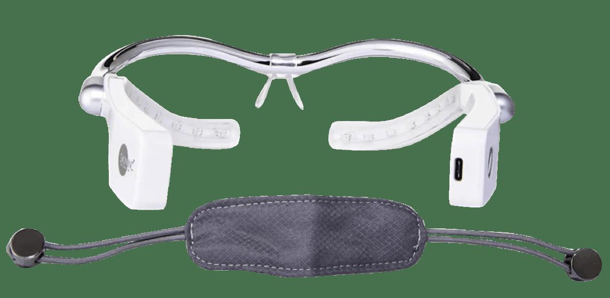 Optimizer Voyage Tri-Light Glasses LED Light Treatment for Eyes