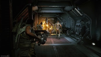Aliens Fireteam Elite fight screenshot