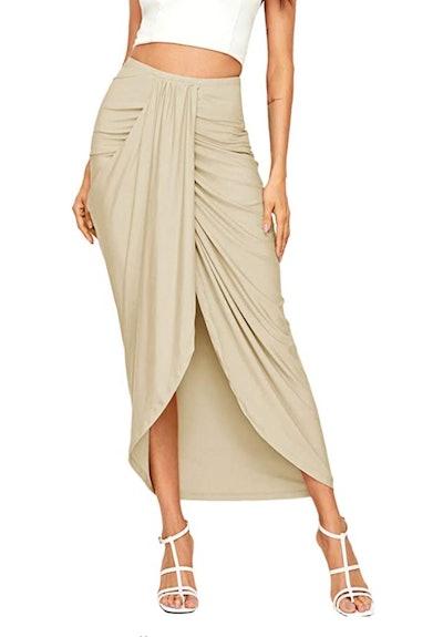 SheIn Draped Skirt