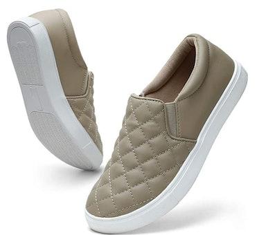 STQ Memory Foam Slip On Sneakers