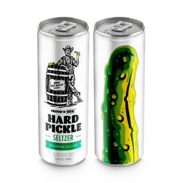 Here's where to buy BrüMate and Crook & Marker's Hard Pickle Seltzer while it's still available.