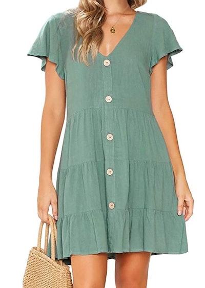MITILLY Pocket Swing Dress