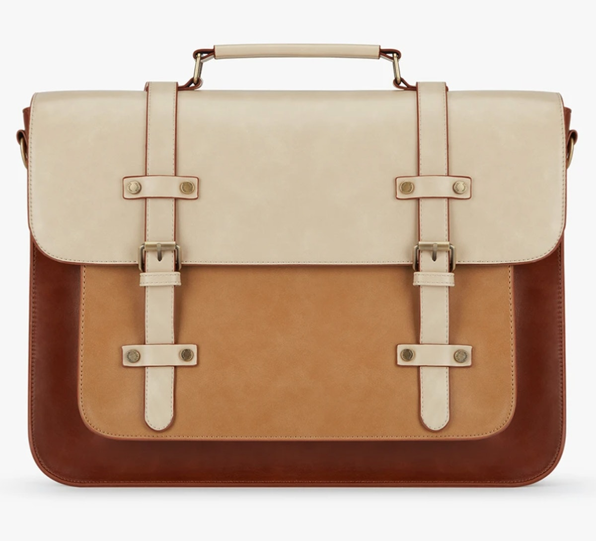 ECOSUSI's Sombre Vintage Bag that can hold a laptop.