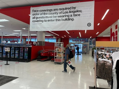 Los Angeles County, California, is again requiring all people to mask up in indoor public spaces – o...