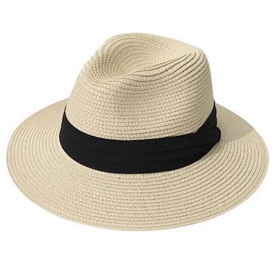 Lanzom Wide Brim Sun Hat