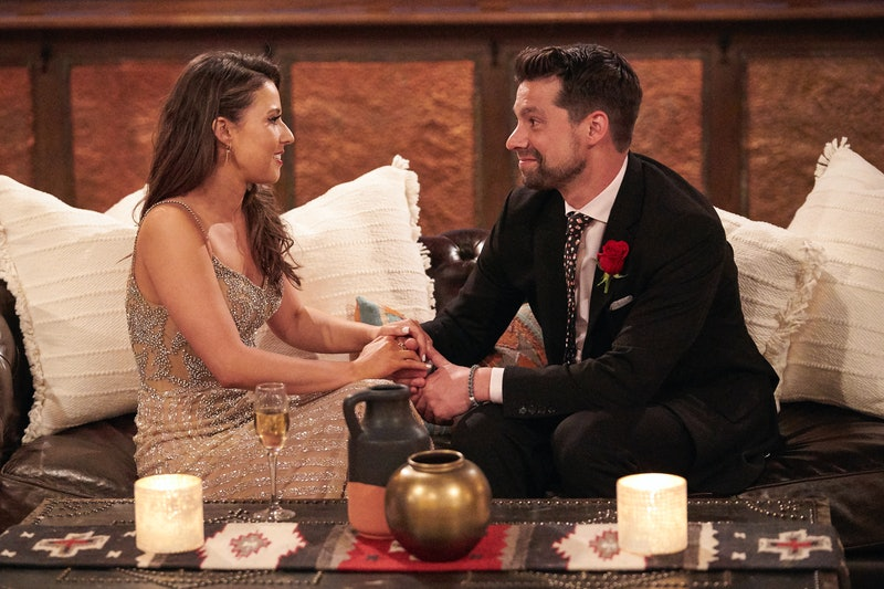 Katie Thurston and Michael Allio in 'The Bachelorette' via ABC's press site