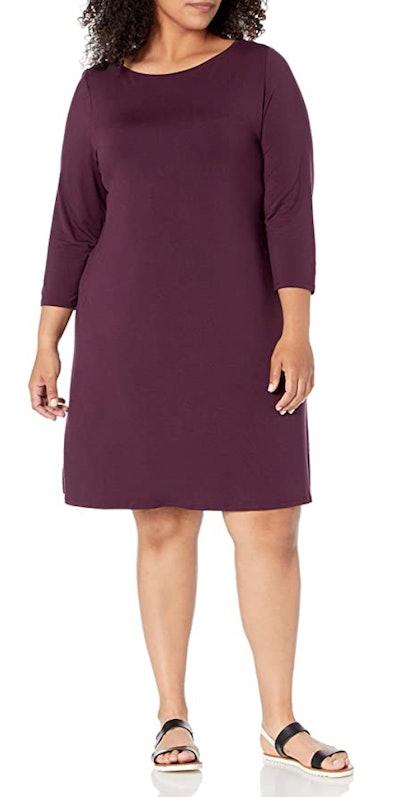 Amazon Essentials Plus Size 3/4 Sleeve Dress