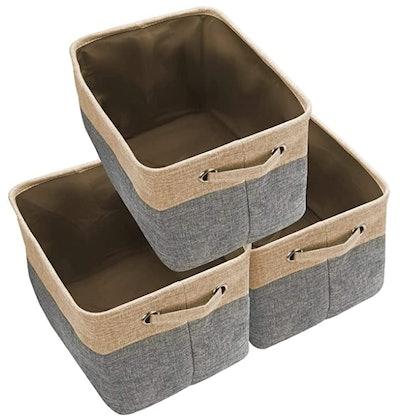 Awekris Foldable Storage Bin Set (3-Pack)