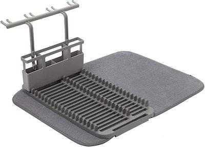 Umbra Rack & Microfiber Dish Drying Mat