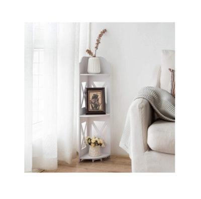 TuoxinEM Catty Corner Shelf