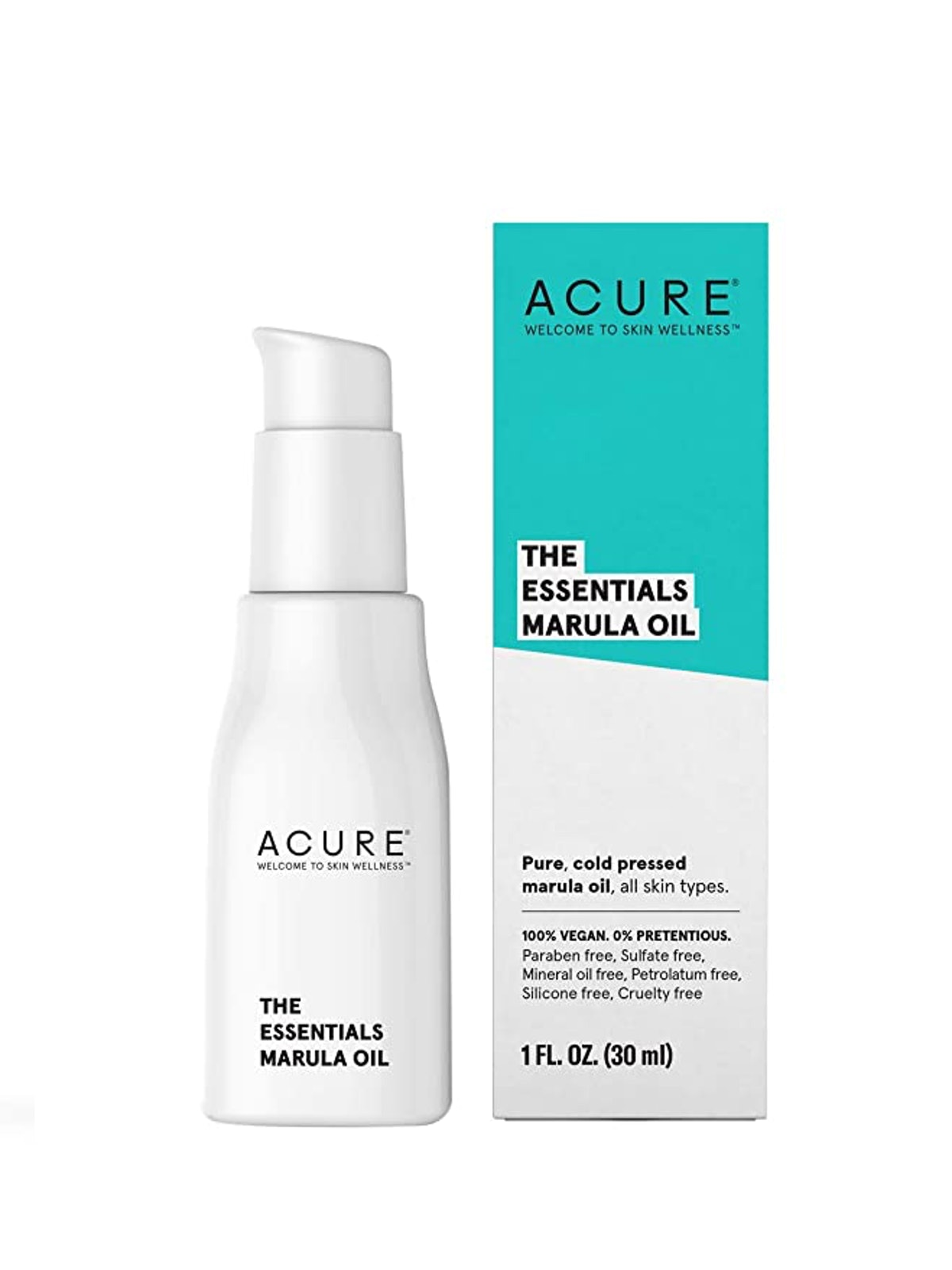 Acure The Essentials Marula for Dry Skin & Hair Oil