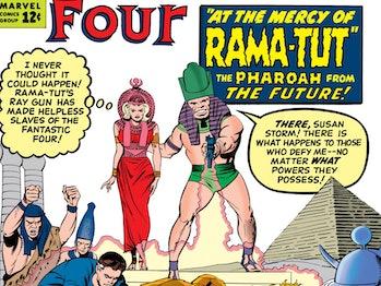 Fantastic Four Eternals Kang Rama Tut theory