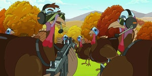 Do turkeys sleep in trees? The truth behind the fowl 'Rick and Morty' joke