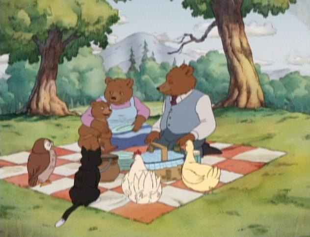 Little Bear is based on a series of children's books by Maurice Sendak