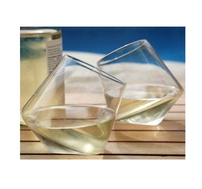 Veracity & Verve Spinning Wine Glasses (Set of 2)