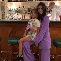 Kourtney Kardashian and Penelope on March 9, 2021.