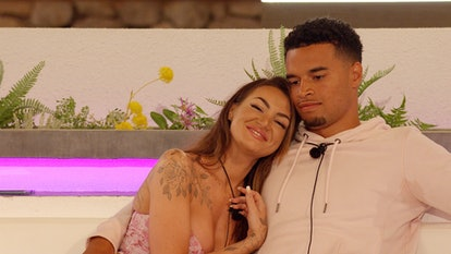 Toby and Abigail in 'Love Island'