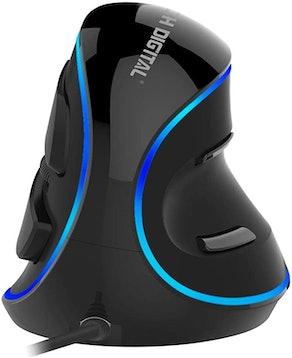 J-Tech Digital Ergonomic Vertical USB Mouse