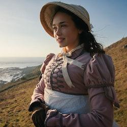 Still from ITV's Sanditon featuring Rose Williams as Charlotte Heywood