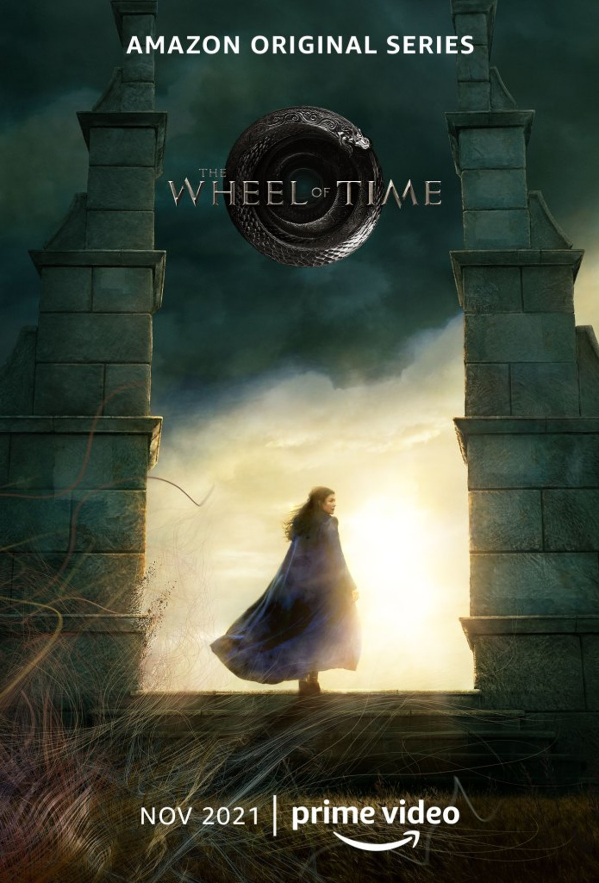 The official poster for The Wheel of Time