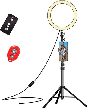 EMART Selfie Ring Light with Adjustable Tripod