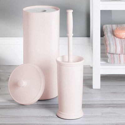 mDesign Toilet Paper Canister