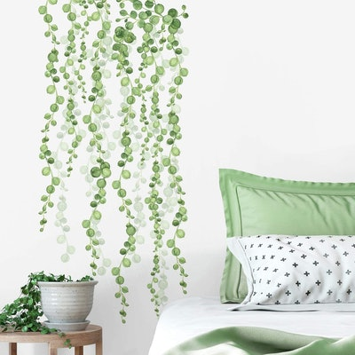 RoomMates String of Pearls Vine Wall Decals (2-Sheets)