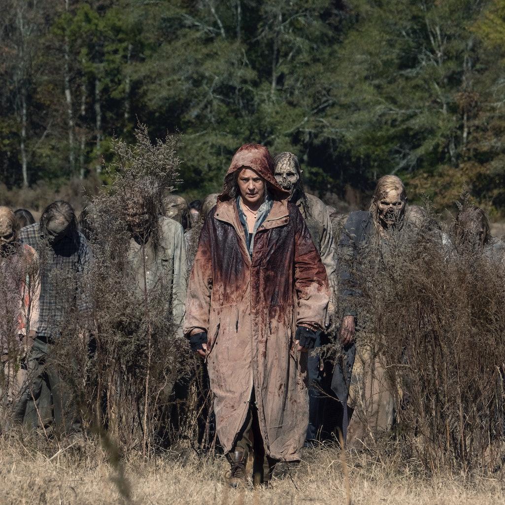 A still from The Walking Dead, season 10.