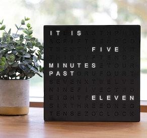 Sharper Image Electronic Word Clock