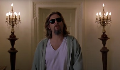 A still image from The Big Lebowski.