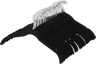 Amazon Basics Velvet Clothing Hangers (50-Pack)