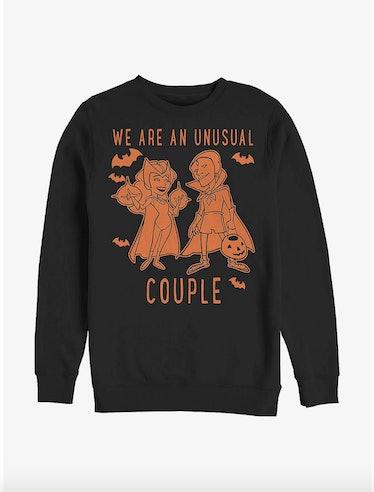 Marvel WandaVision Unusual Couple Halloween Sweatshirt