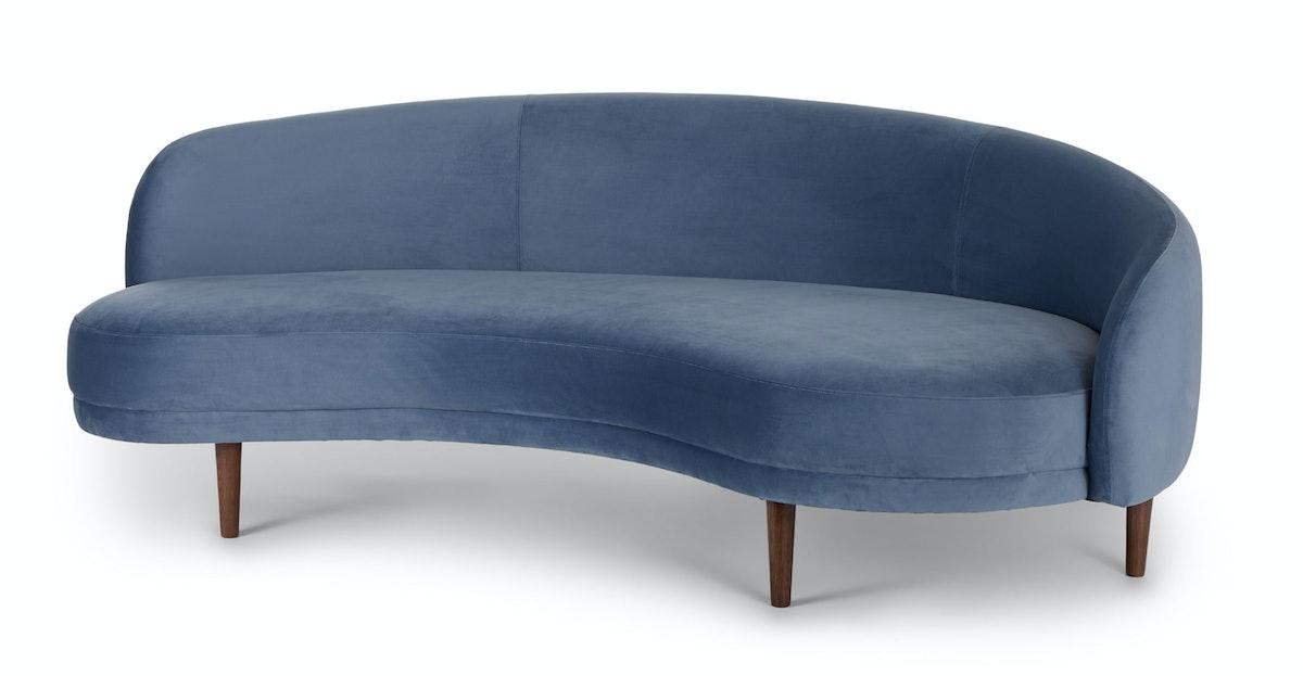 Kayra Seaside Blue Sofa