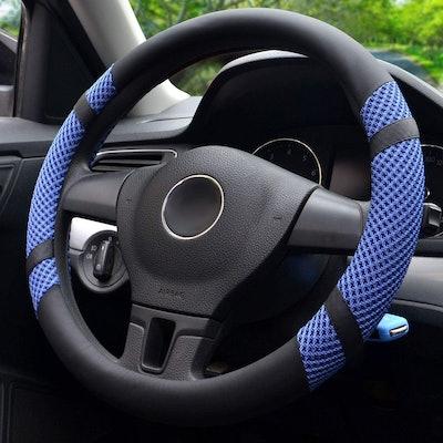 BOKIN Microfiber Steering Wheel Cover