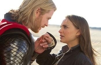 Chris Hemsworth and Natalie Portman in 2011's Thor