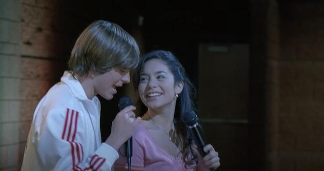 Zac Efron stars in the film, High School Musical.