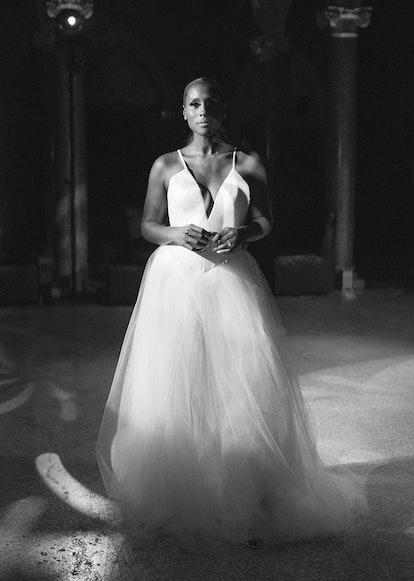Issa Rae's Vera Wang wedding dress.