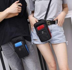 Sentient Wolf Water-Resistant Phone Bag
